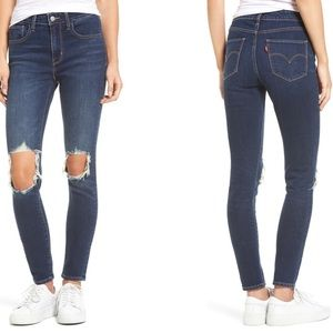 Levi's 721 High Waist Skinny Jeans Rough Day